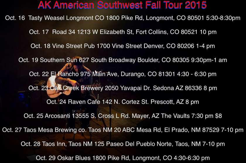 American Southwest Fall Tour 2015